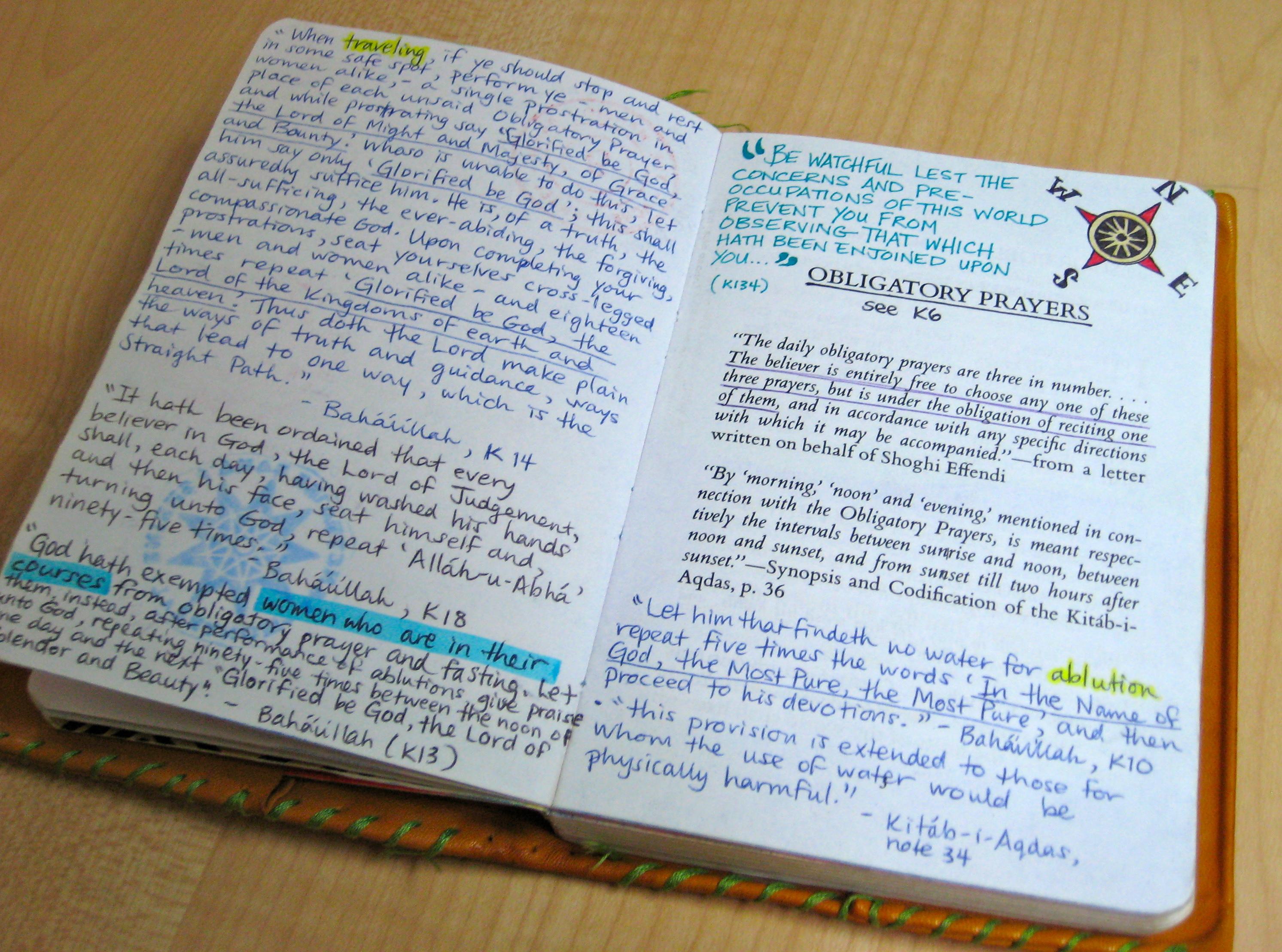 Baha'i Prayer Book Illustration Project (Part 1) | Real Life