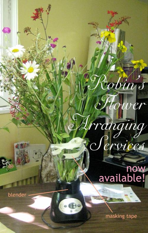Robin's Flower-Arranging Services