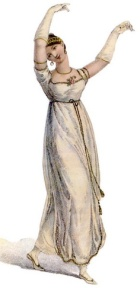 Regency Dancing Woman
